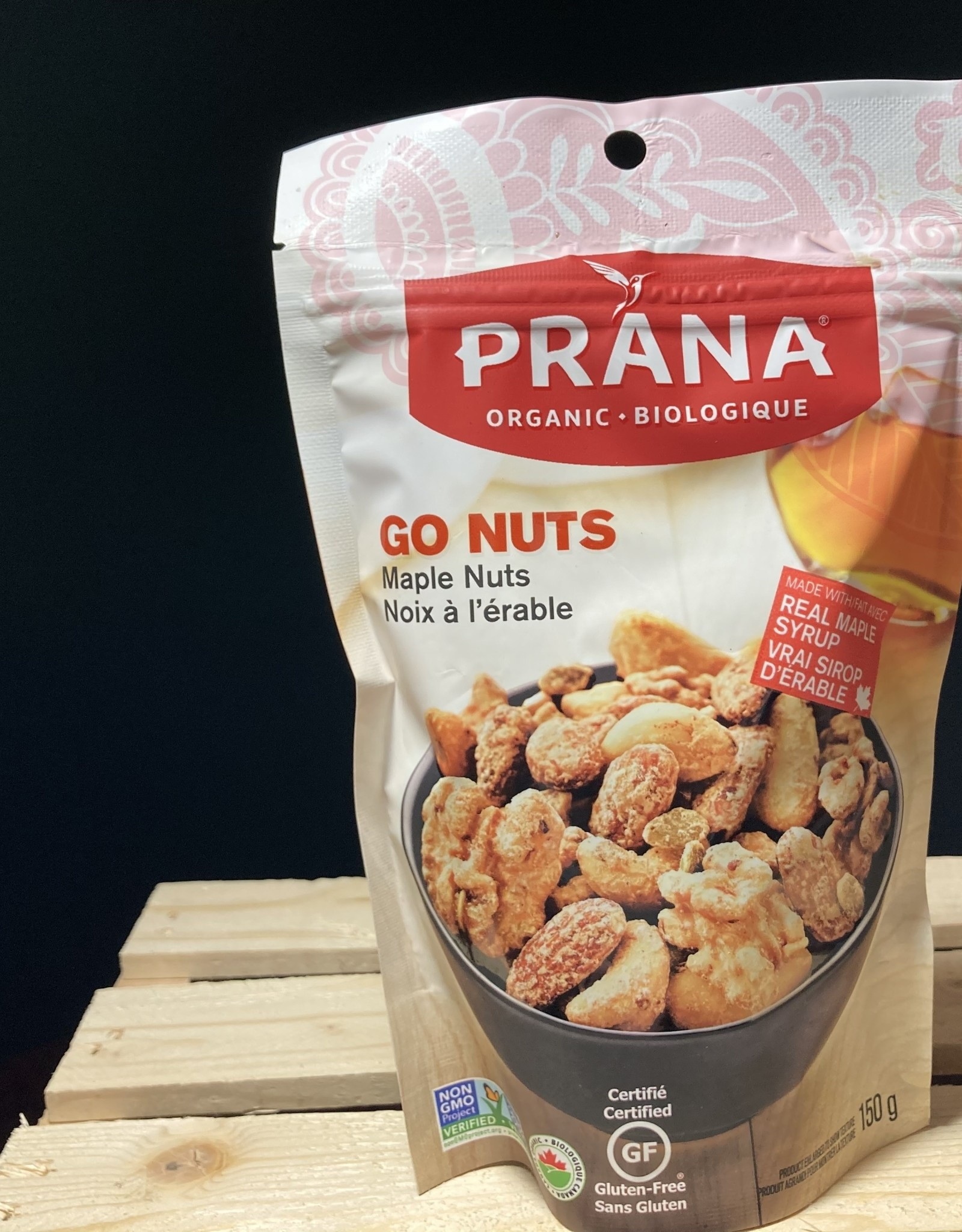 Prana Prana - Bark, Carazel Caramelized Nuts With Sea Salt (100g)