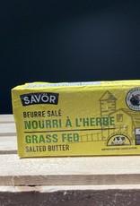 Savor Savor - Grass Fed Salted Butter (250g)