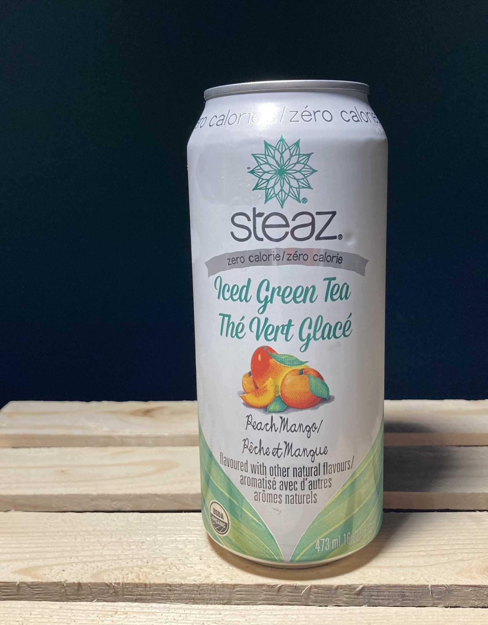 Steaz Steaz - Ice Teaz Zero Calorie, Peach Mango (473ml)