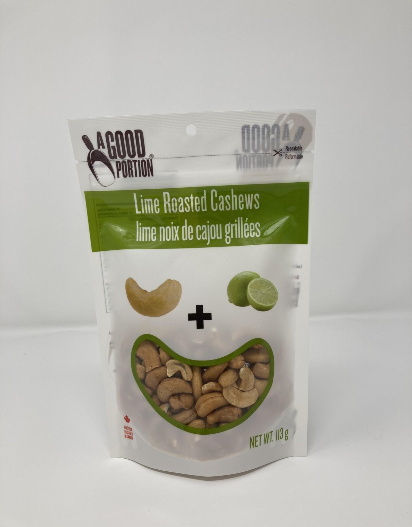 A Good Portion A Good Portion - Cashews, Roasted Lime