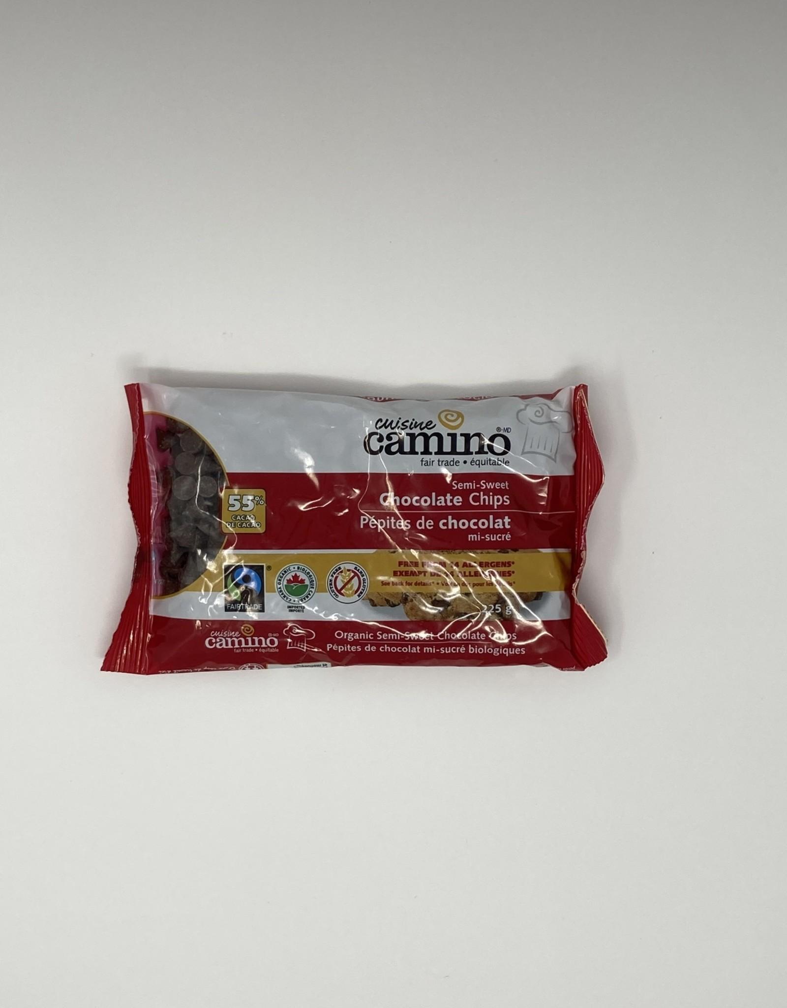 Camino Camino - Baking Chocolate, Semi-Sweet Chocolate Chips 55% (225g)