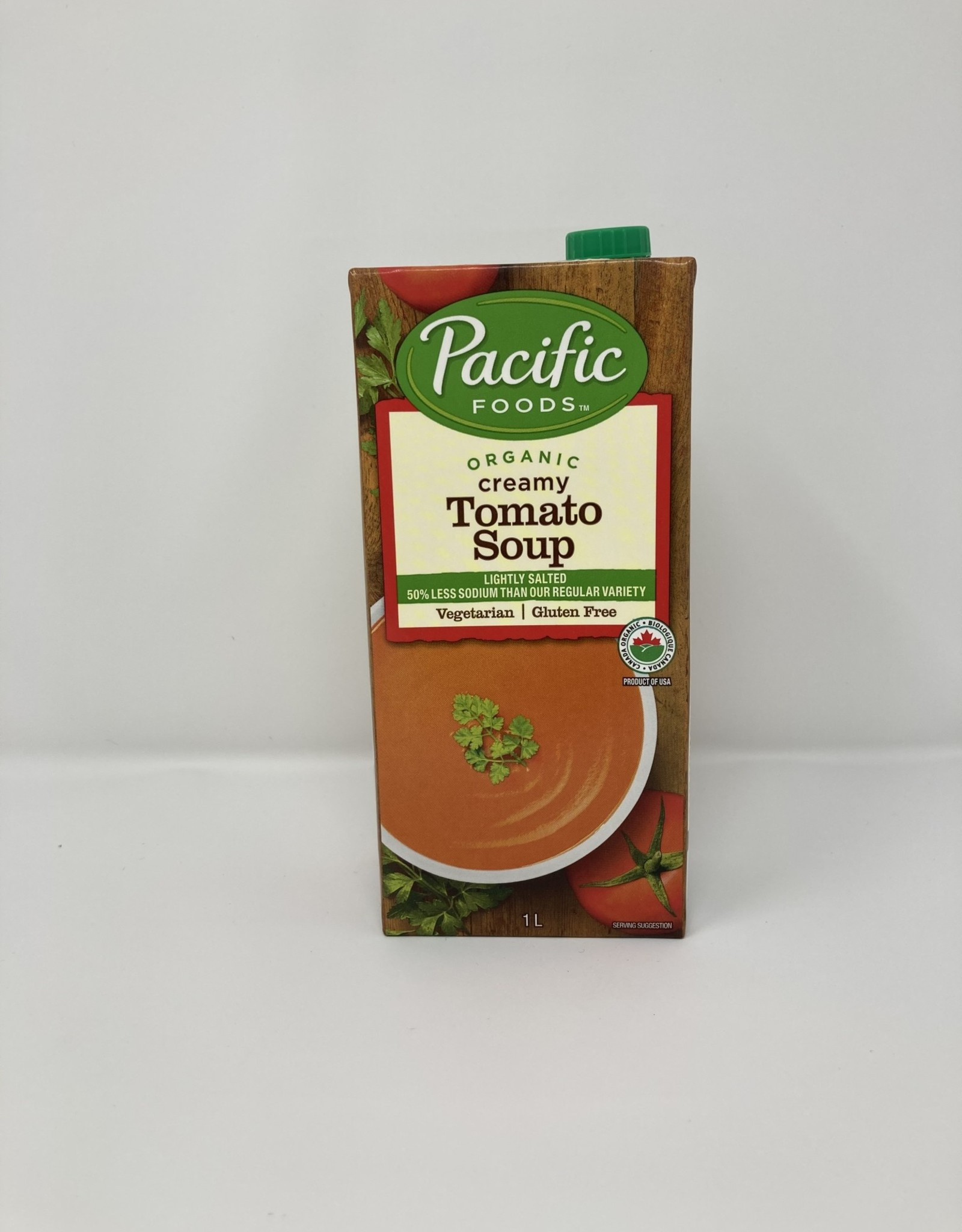 Pacific Foods Pacific Foods - Soup, Organic Low Sodium Creamy Tomato (1L)