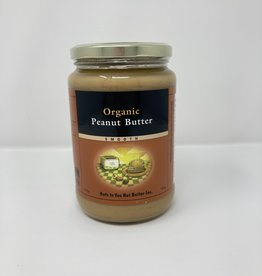 Nuts To You Nuts To You - Organic Peanut Butter, Smooth (750g)