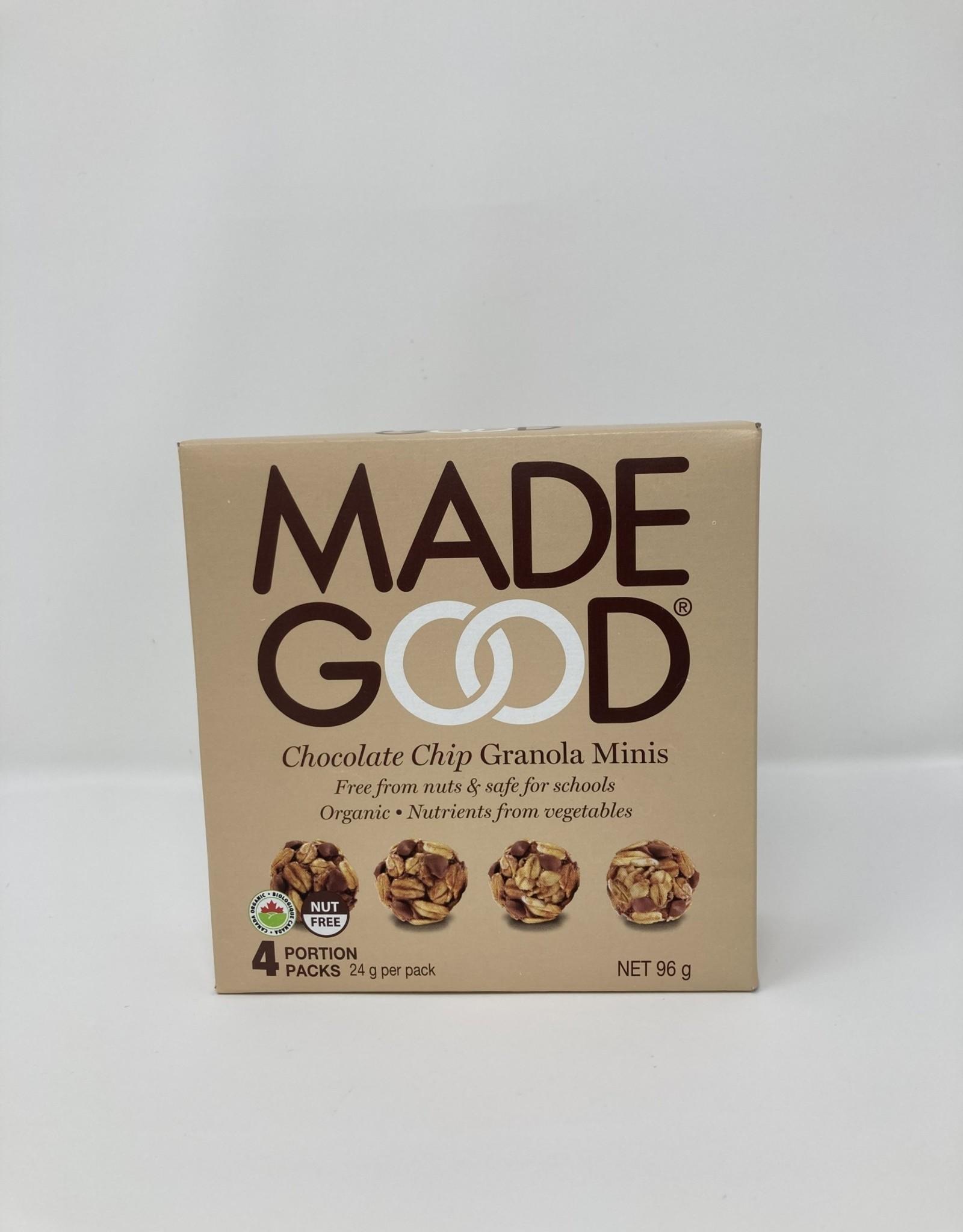 MadeGood MadeGood - Granola Minis, Chocolate Chip (4pk)