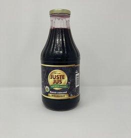 Just Juice Just Juice - Juice, Organic Concord Grape (1L)