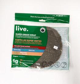 Live Organic Live Organic - Wraps, Super Green