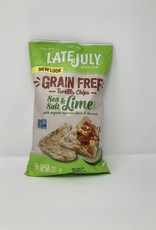 Late July Late July - No Grain Tortilla Chips, Sea Salt & Lime - CASE single