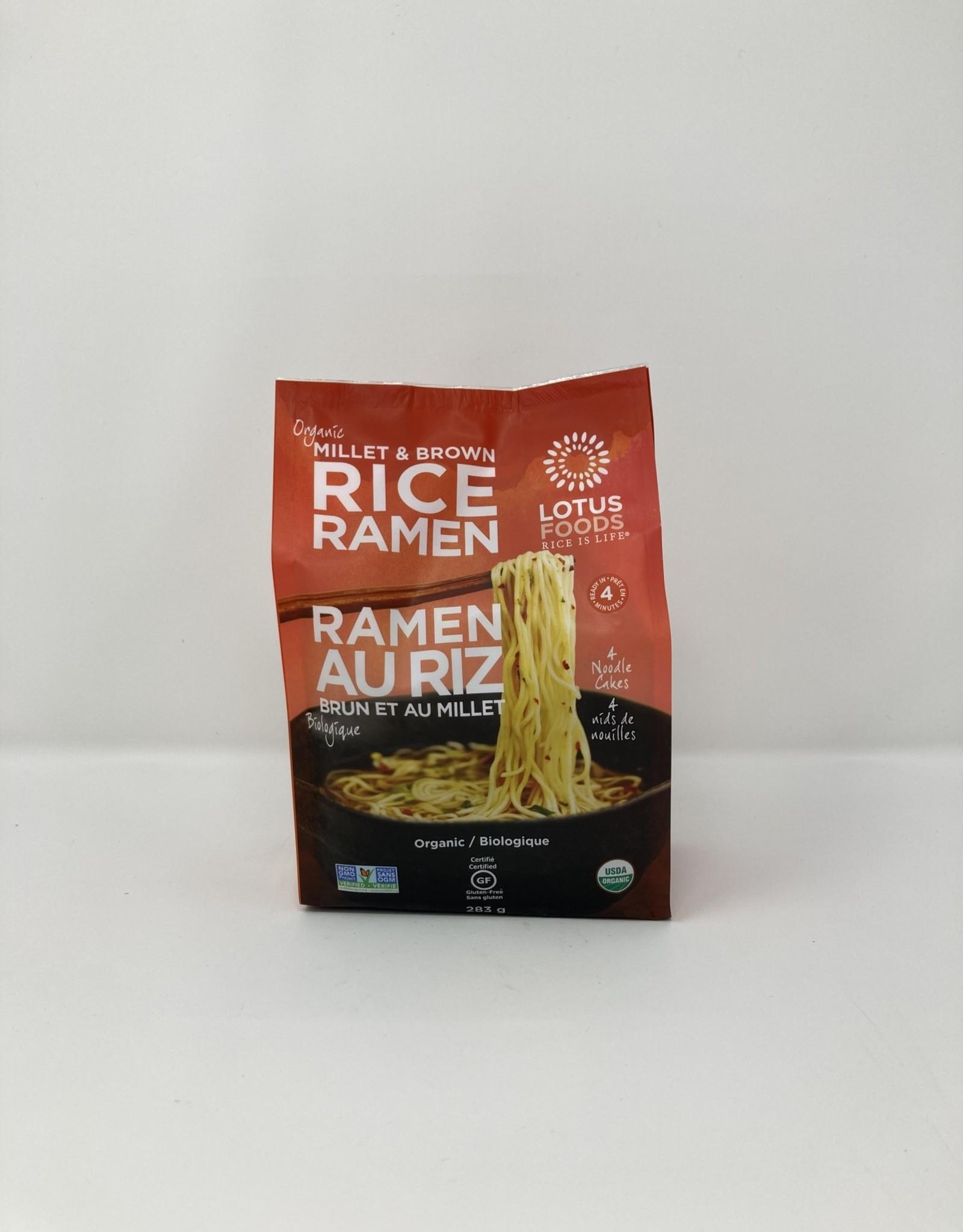 Lotus Foods Lotus Foods - Organic Rice Ramen 4 pack, Millet & Brown Rice
