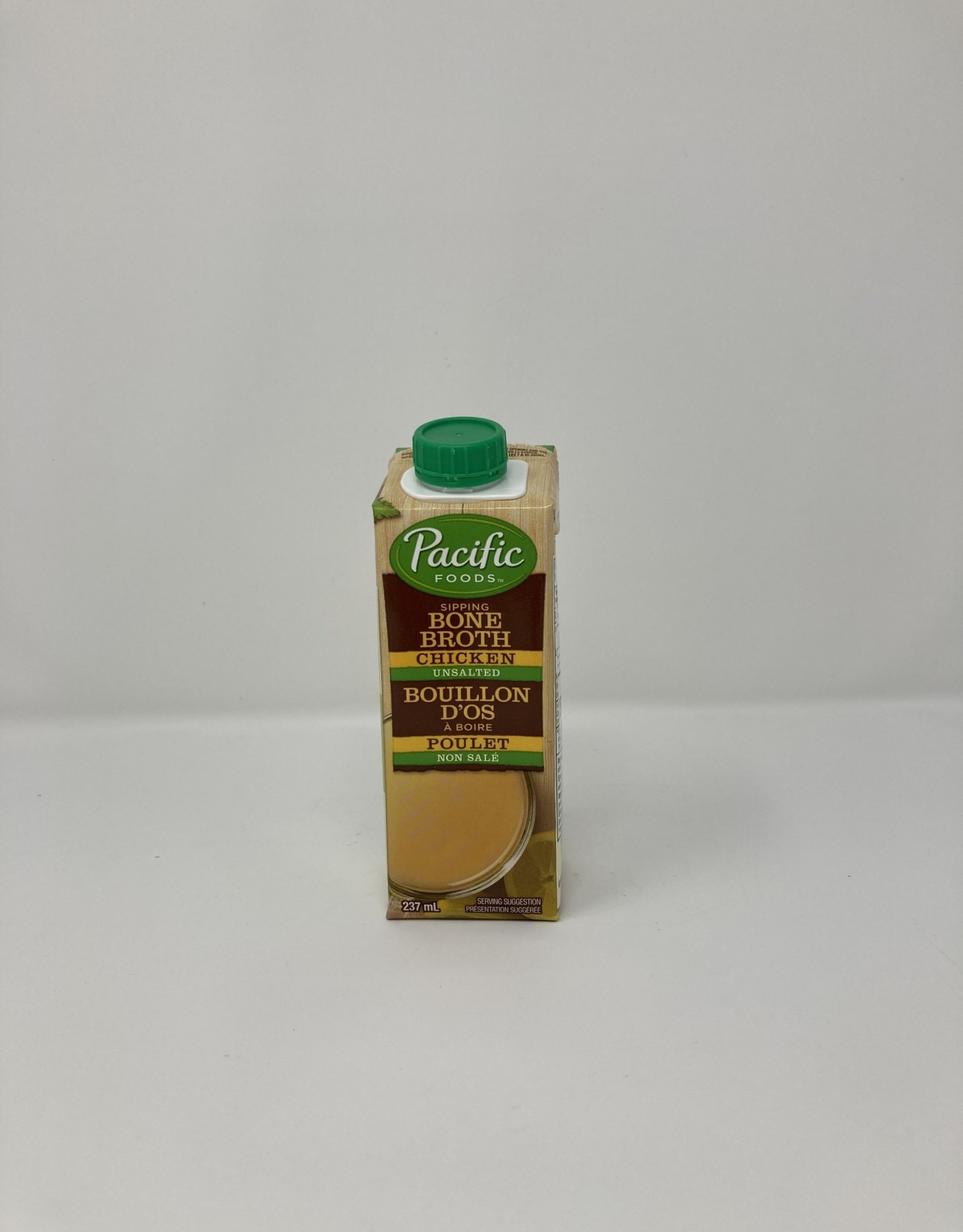 Pacific Foods Pacific Foods - Bone Broth, Chicken Unsalted (237ml)