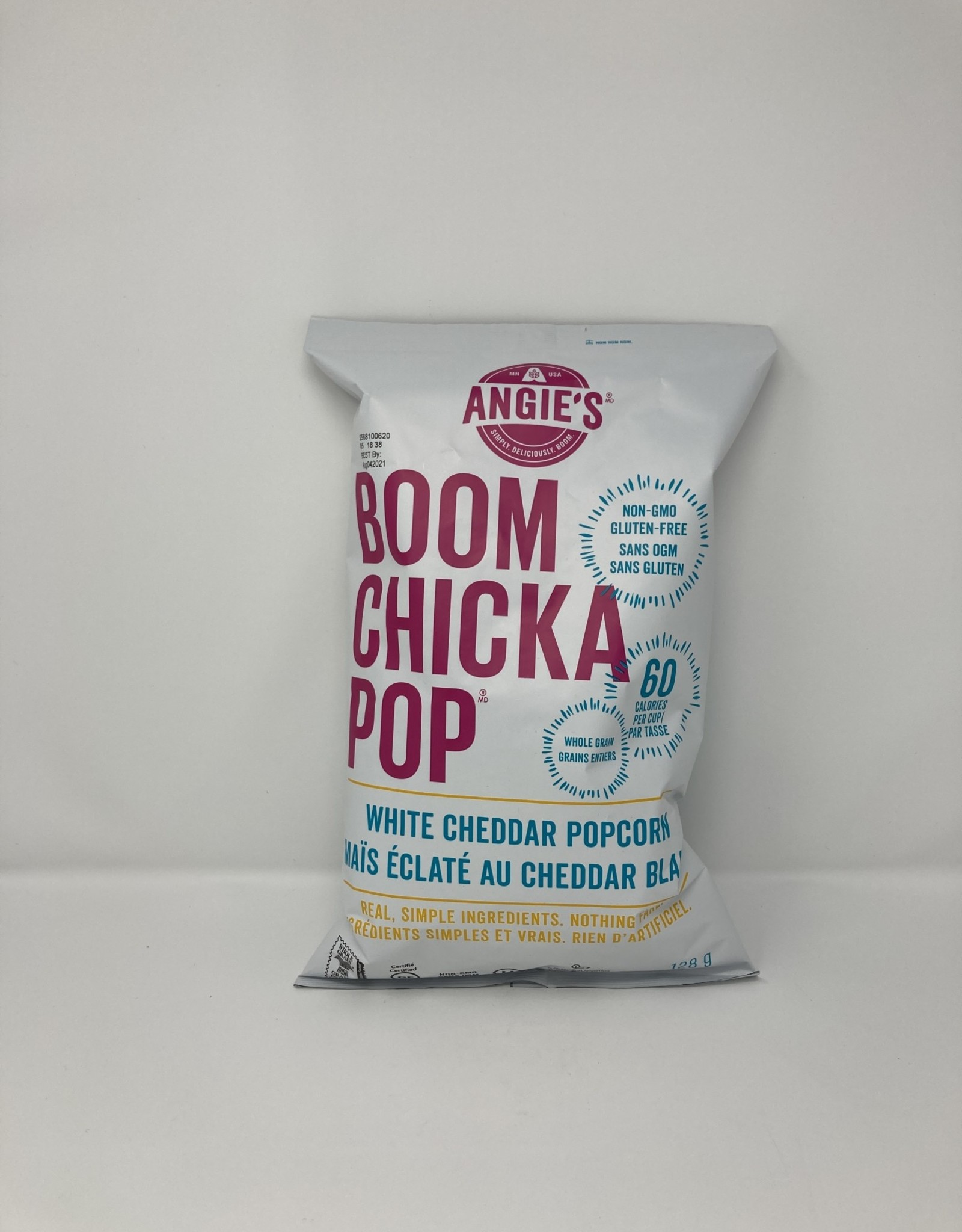 Angie's Artisan Angie's Artisan - Popcorn, White Cheddar (126g)