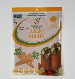 New Gem Foods New Gem Foods - Gem Wraps, Carrot