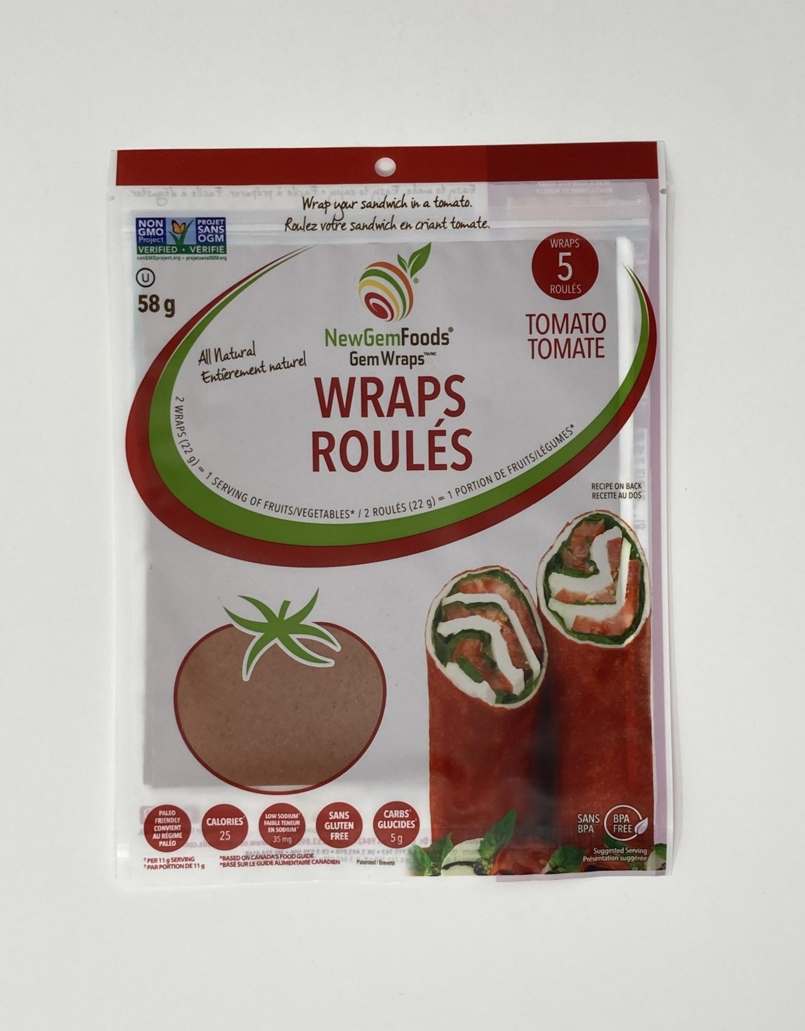 New Gem Foods New Gem Foods - Gem Wraps, Tomato