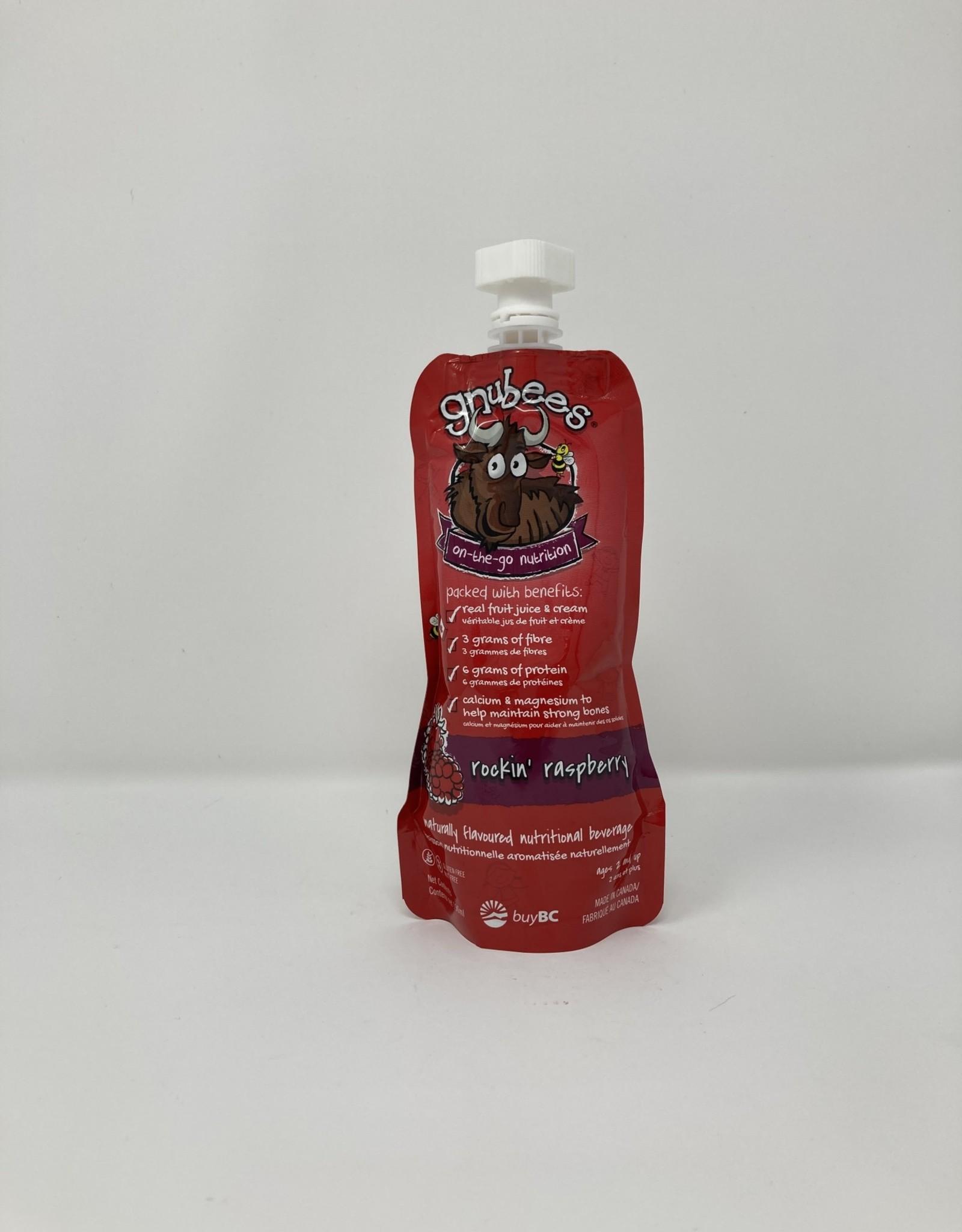 Gnubees Gnubees - Nutritional Beverage, Rockin' Raspberry
