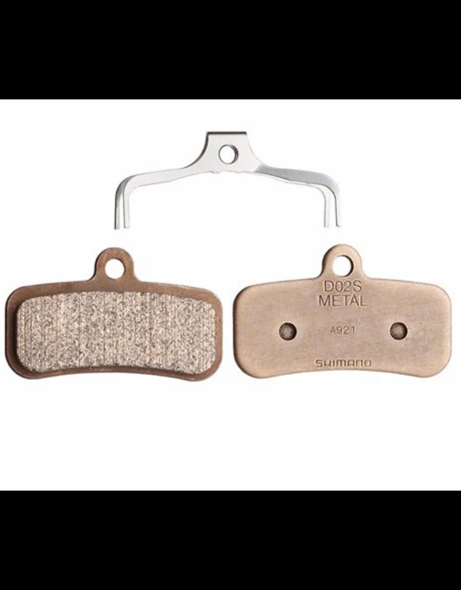 Shimano Brake pads Shim D02S metal (Saint,Zee,SLX M7120,XT 8020)