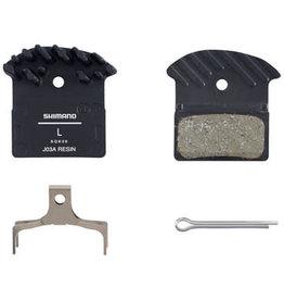 Shimano Plaquettes frein Shim J03A resin Ice tech (XTR,XT,SLX,Alfine) (vrac) 2 pist