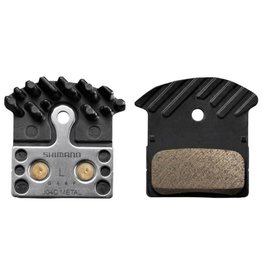 Shimano Brake pads Shim J04C metal Ice tech (XTR,XT,SLX,Alfine)