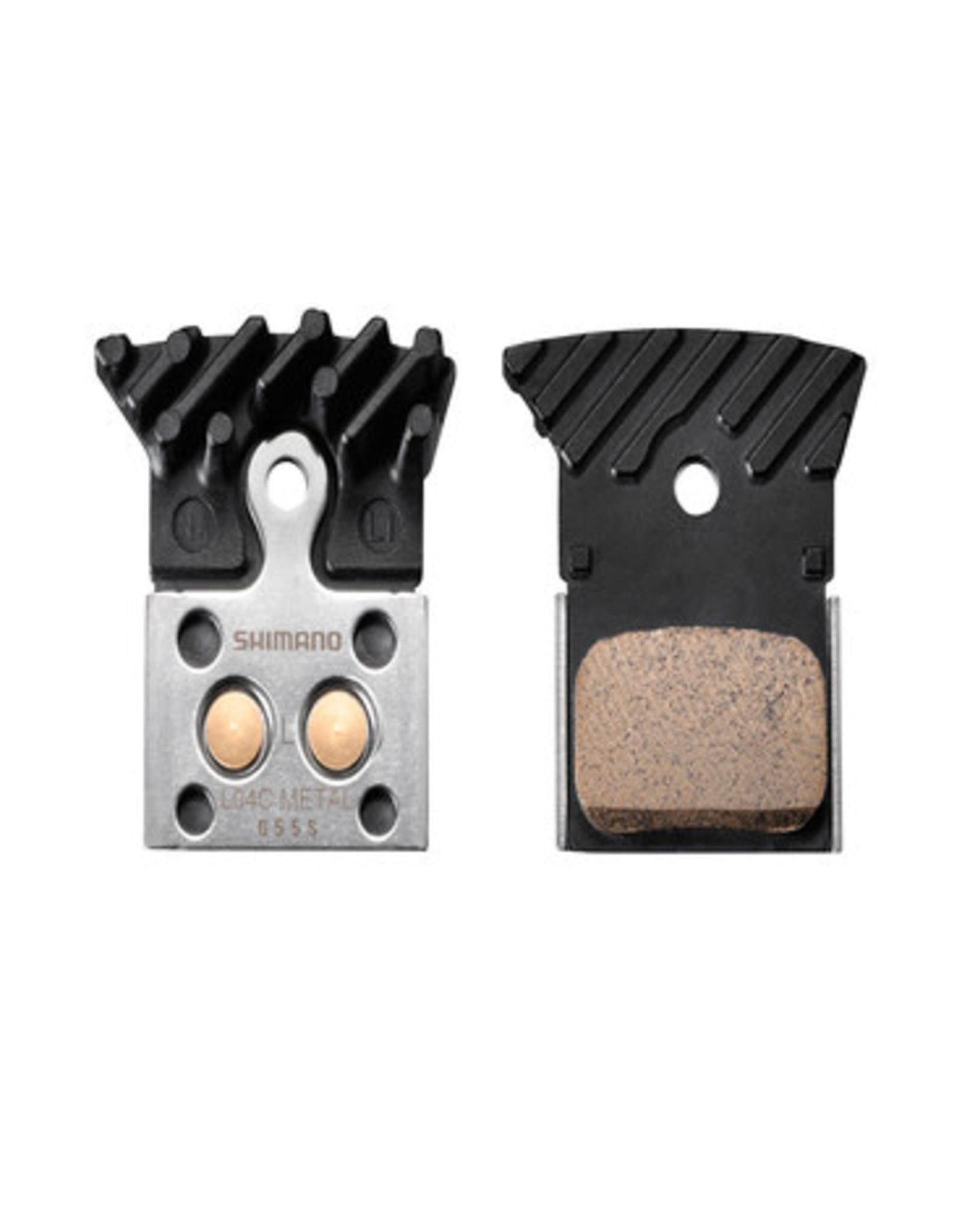 Shimano Brake pads Shim L04C metal Ice tech (Dura/Ulte/105)