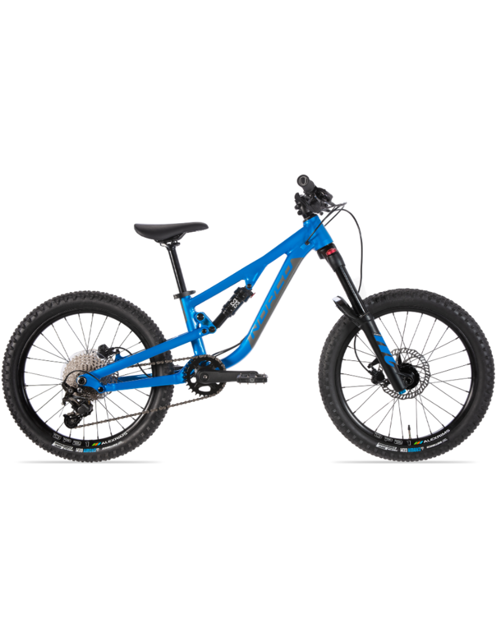"Norco 2021 Norco Fluid FS 2.2 20"" blue/charcoal"