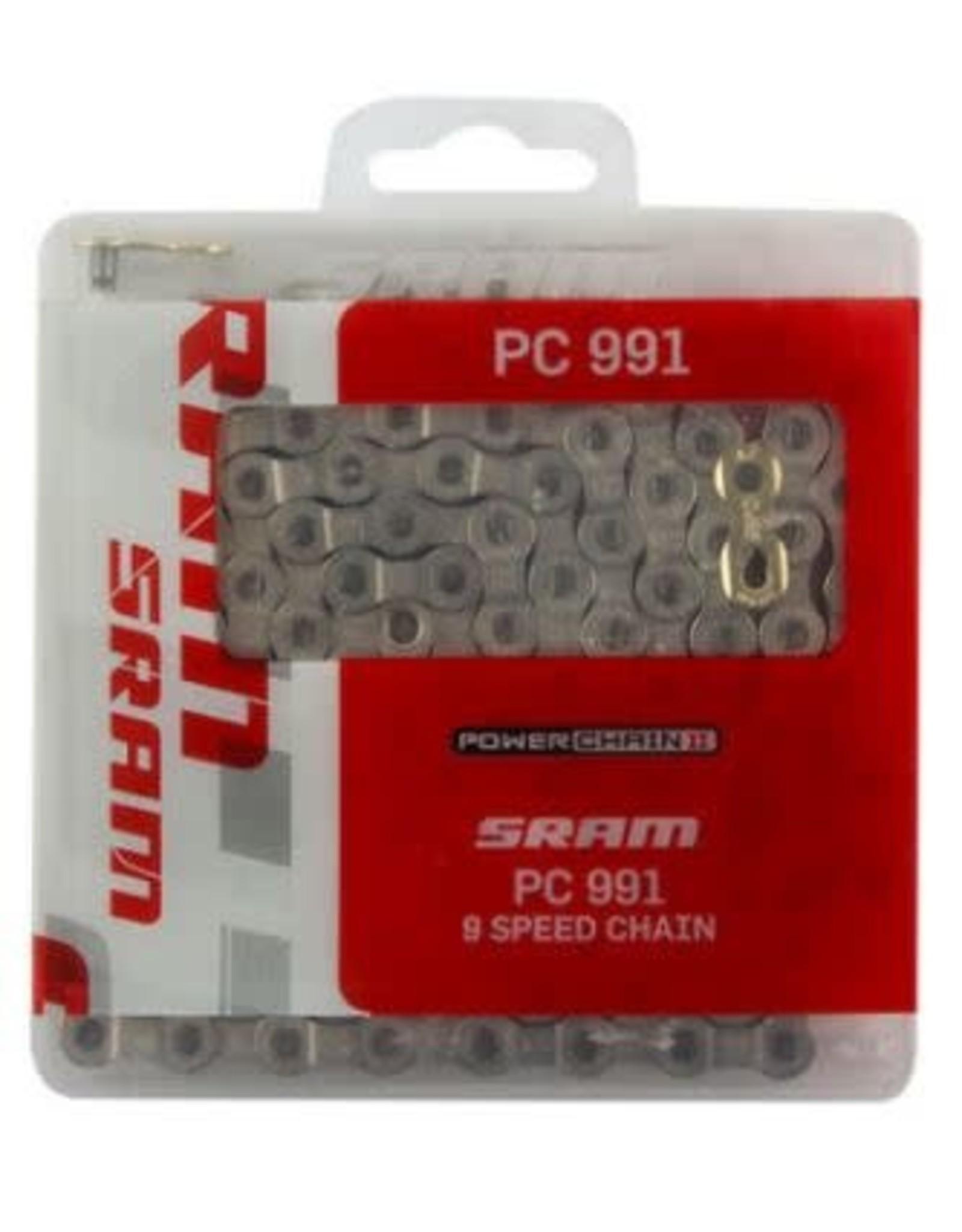 SRAM Chaine SRAM PC-991 9v 114 maillons