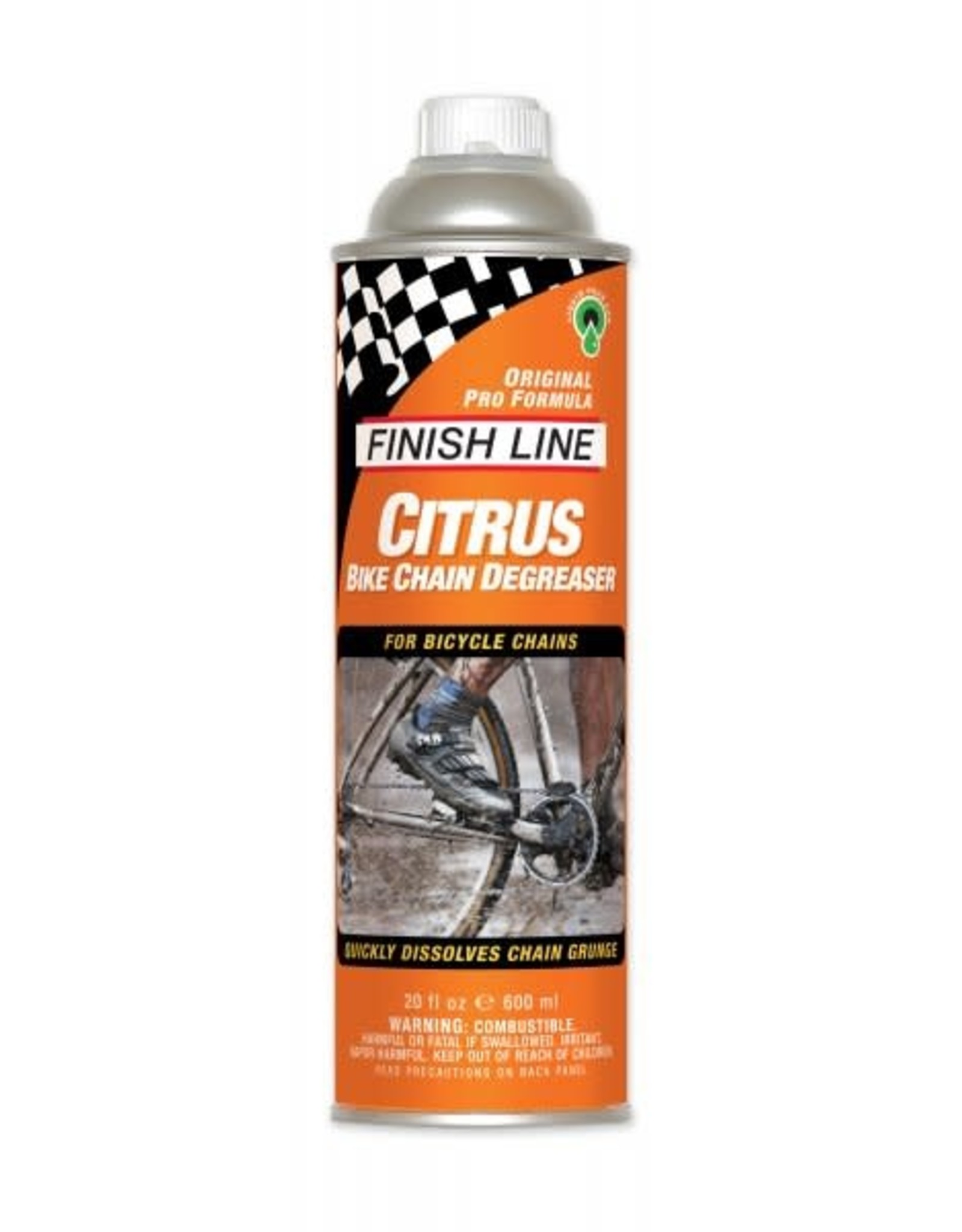 Finish Line Finish Line Liquid Citrus Degreaser 20oz 600ml