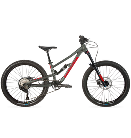"""Norco 2021 Norco Fluid FS 4.2 24"""" grey/red"""