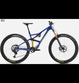 Orbea 2021 Orbea Occam M10 blue/gold Lar (Fox 36 Fac/Minion)