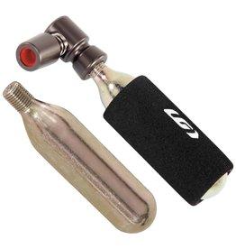 Garneau Garneau Ultra Light CO2 regulator + 2 cartridges