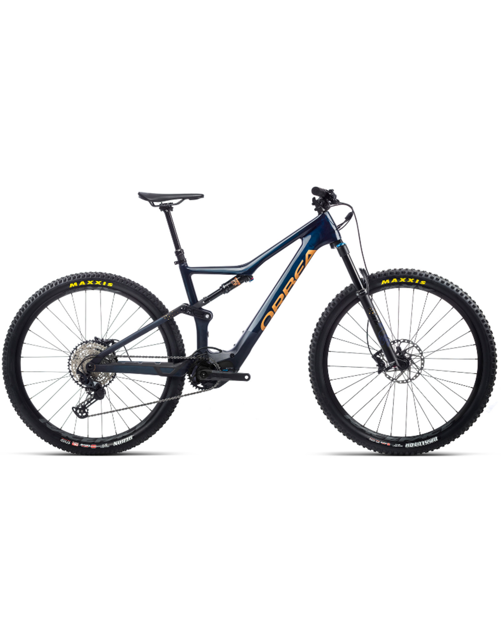 Orbea 2021 Orbea Rise M20 azu/rod (ble) Med (DHF/DHR)