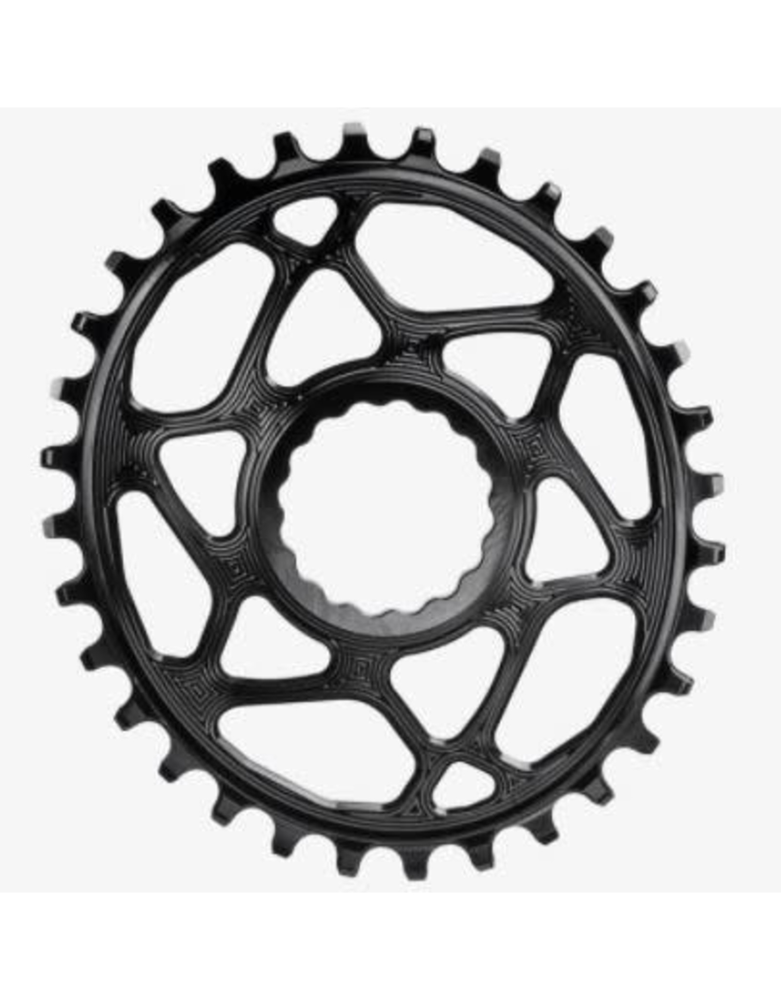Absolute Black Chainring Absolute Black oval cinch boost