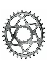 Absolute Black Chainring Absolute Black oval SRAM boost