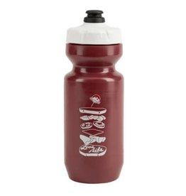 Rocky Mountain Rocky Lunch Ride bottle 22oz Maroon