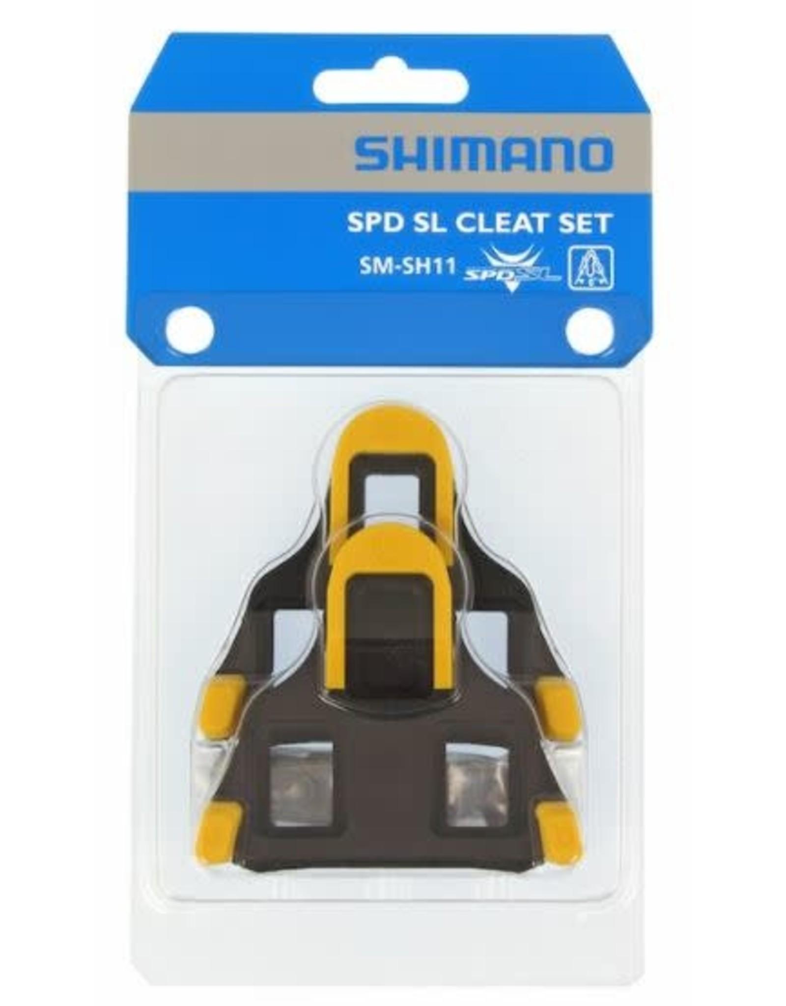 Shimano Cales Shimano SM-SH11 jaune