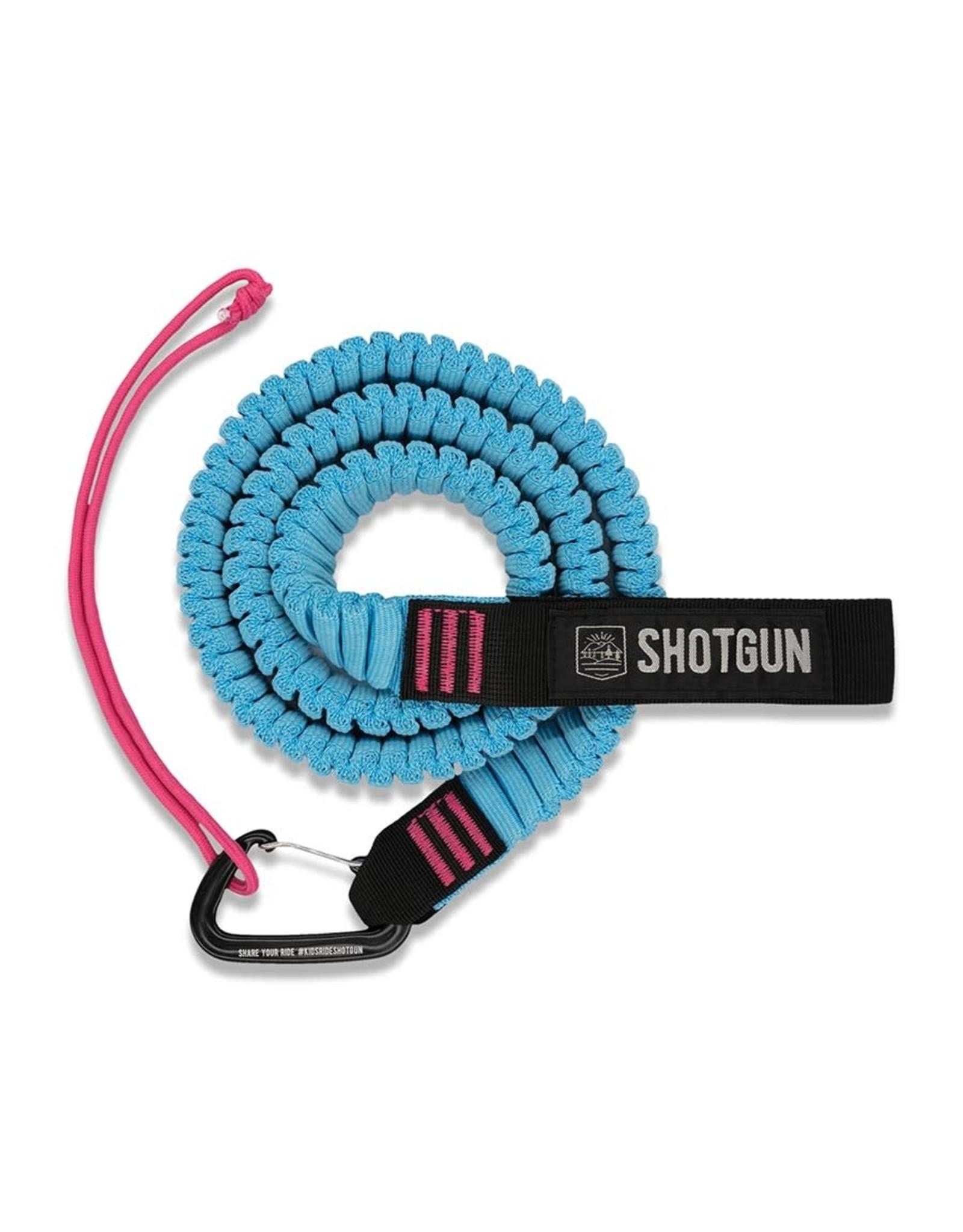 Shotgun Corde remorquage Shotgun bleu