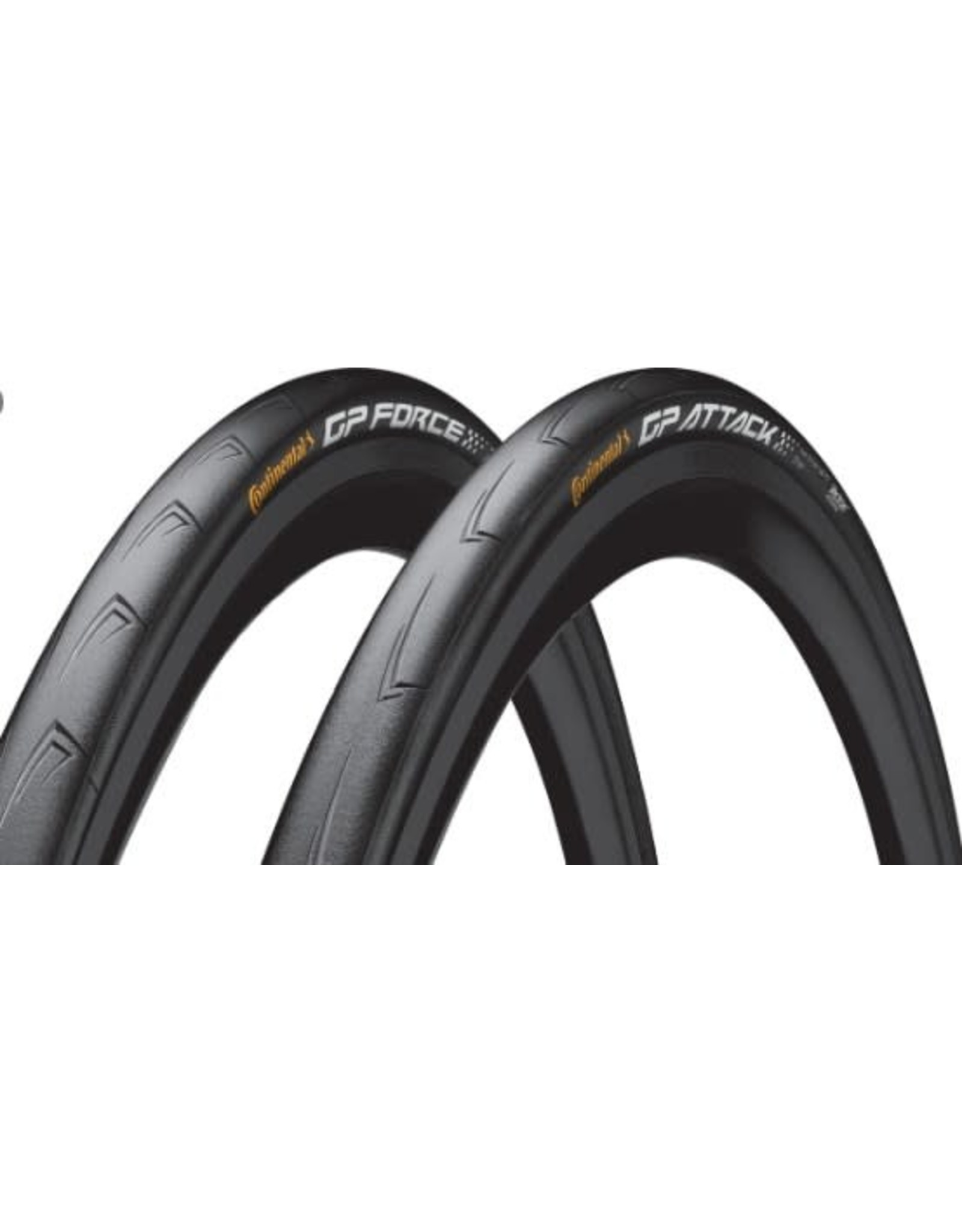 Continental Tires Conti GP Attack/Force 700x22/24 (pair)