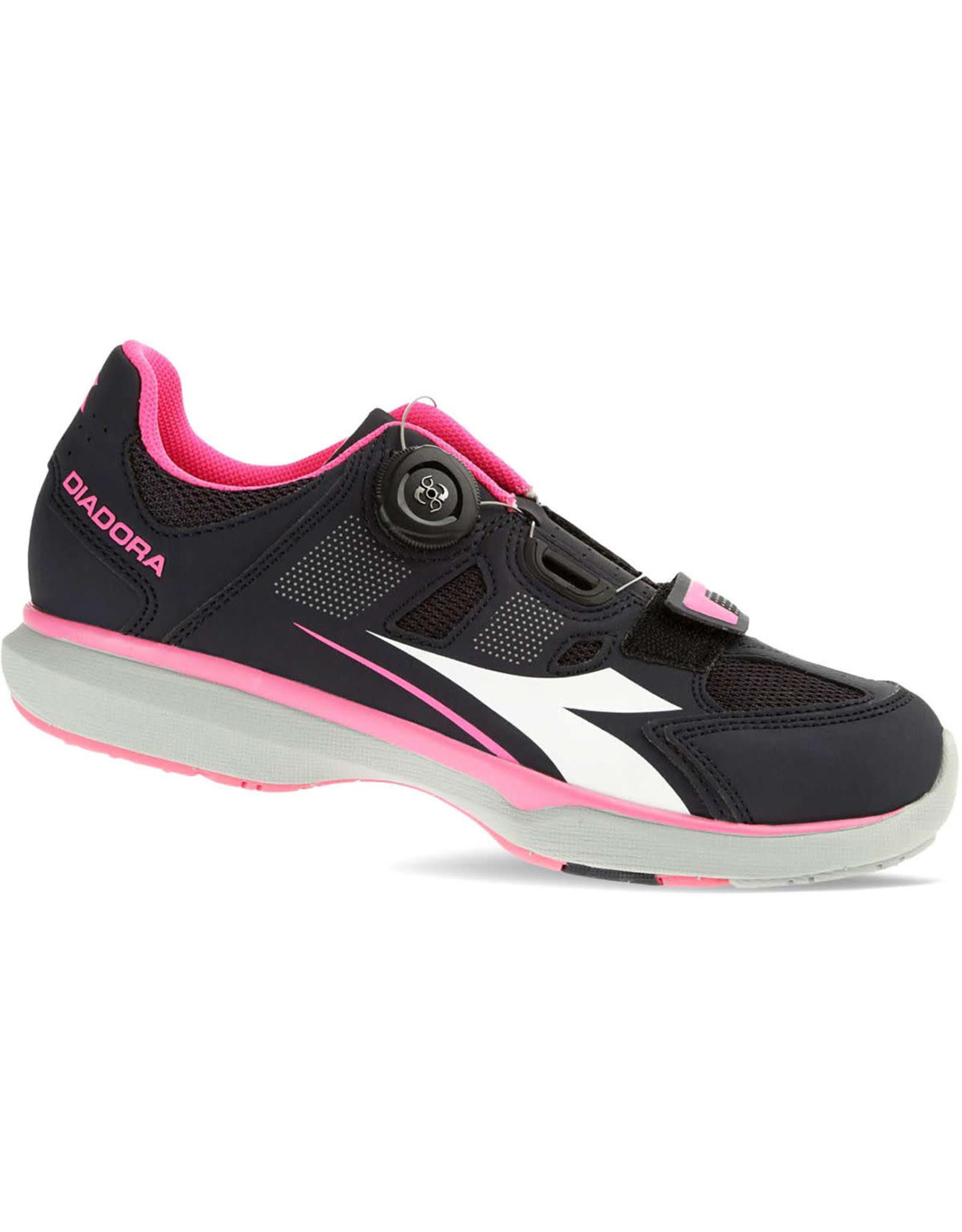 Diadora Shoes Diadora Gym F black/pink 2016 #36