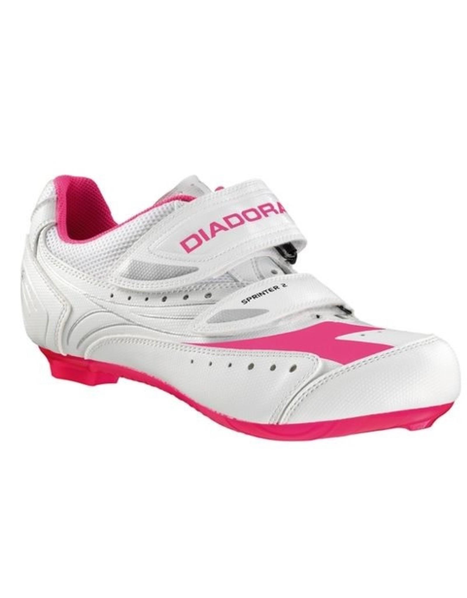 Diadora Shoes Diadora Sprinter2 white/pink #37