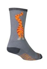 Sock Guy Bas Sock Guy 6po Pucker chat gris S/M