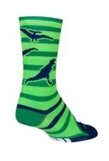 Sock Guy Sock Guy 6po Dinotopia green L/XL