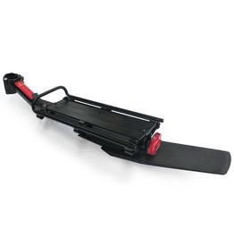 DAMCO Porte-bagage Damco Deluxe tige de selle alliage noir