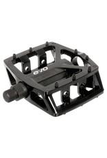Evo Pedals Evo Freefall DX platform removable pin black