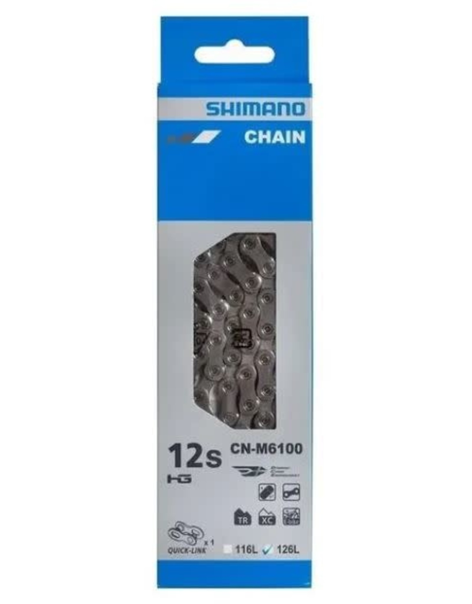Shimano Chain Shimano M6100 Deore 12s 126 links