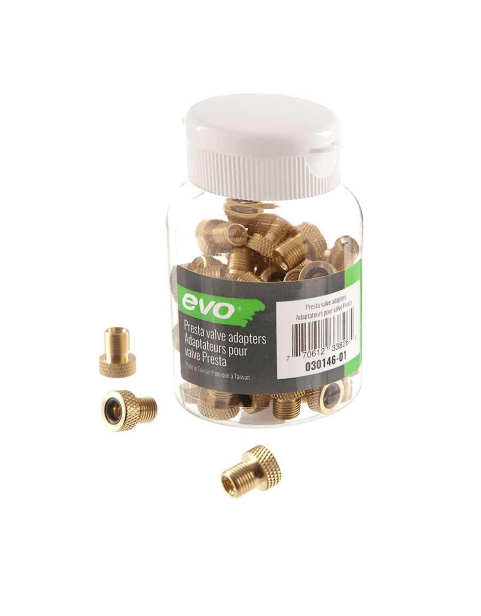 Adaptateur de valve presta en laiton