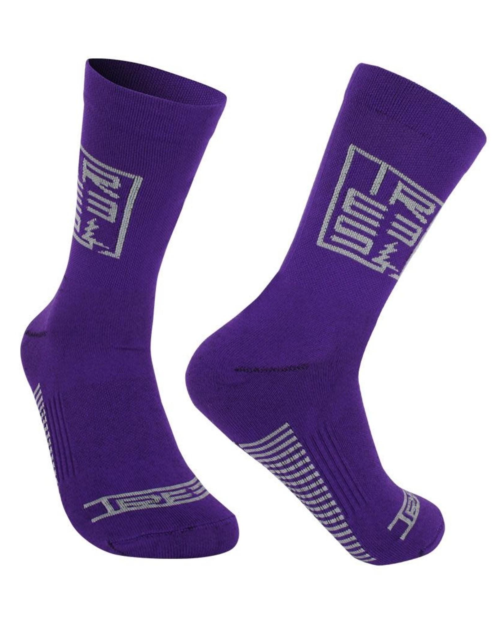 Trees Socks Trees Squared purple
