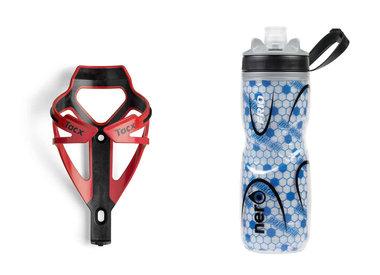 Bottle and bottle holders