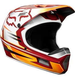 Fox Racing Helmet Fox Rampage Comp cardinal XSmall