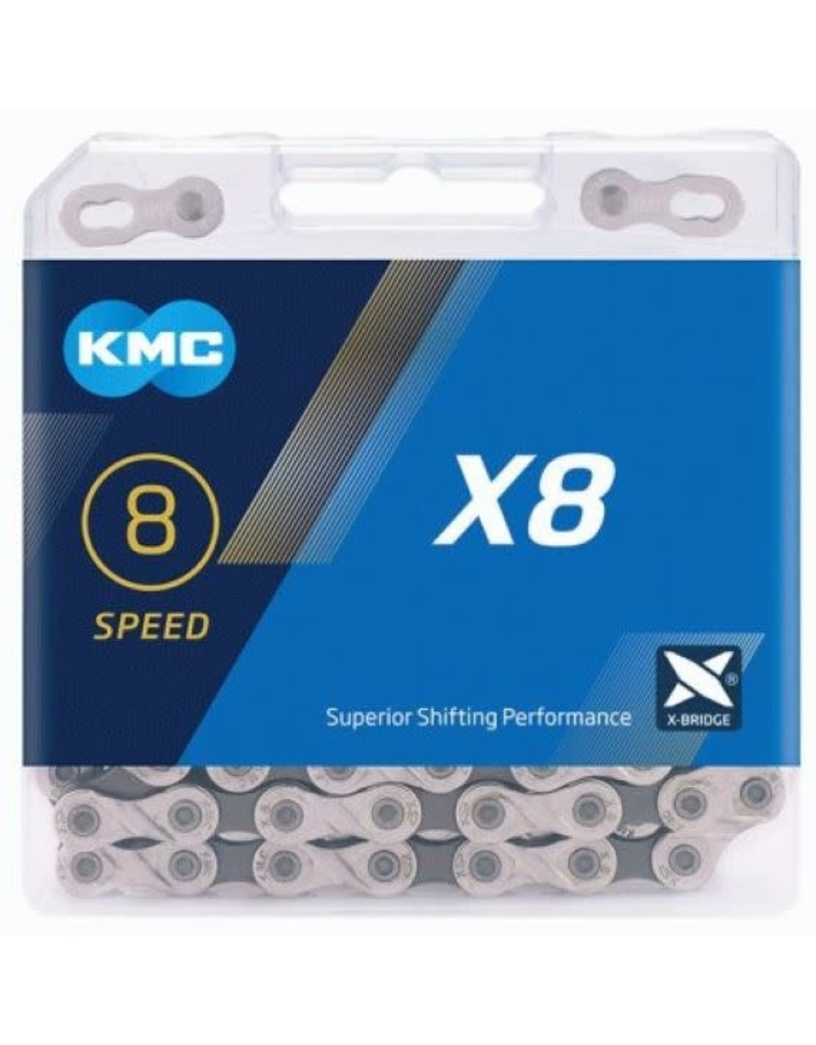 KMC Chaine KMC X8 6/7/8v 116 maillons