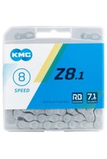 KMC Chaine KMC Z8.1 6/7/8v anti corrosion 116 maillons