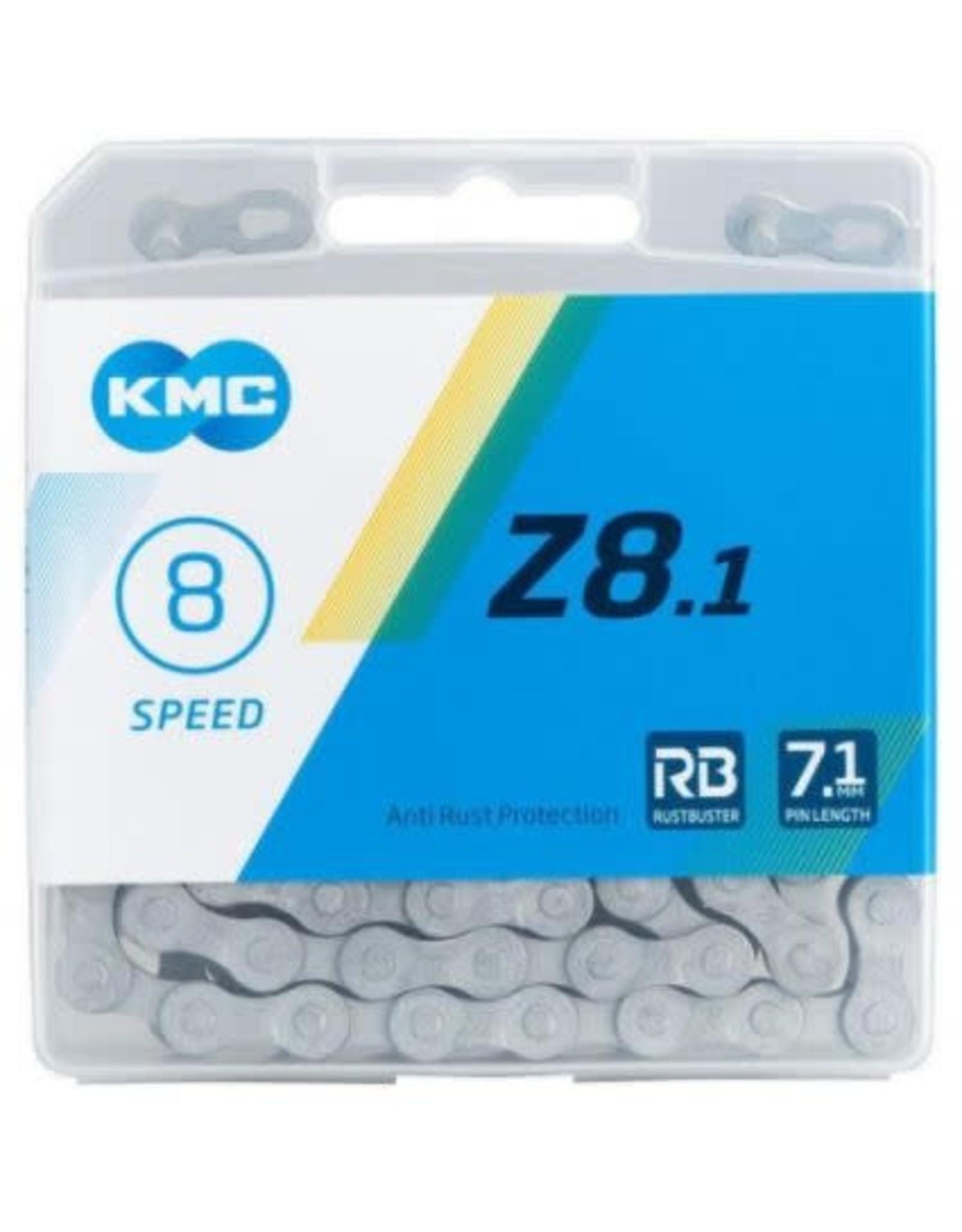 KMC Chain KMC Z8.1 6/7/8s anti rust protection 116 links
