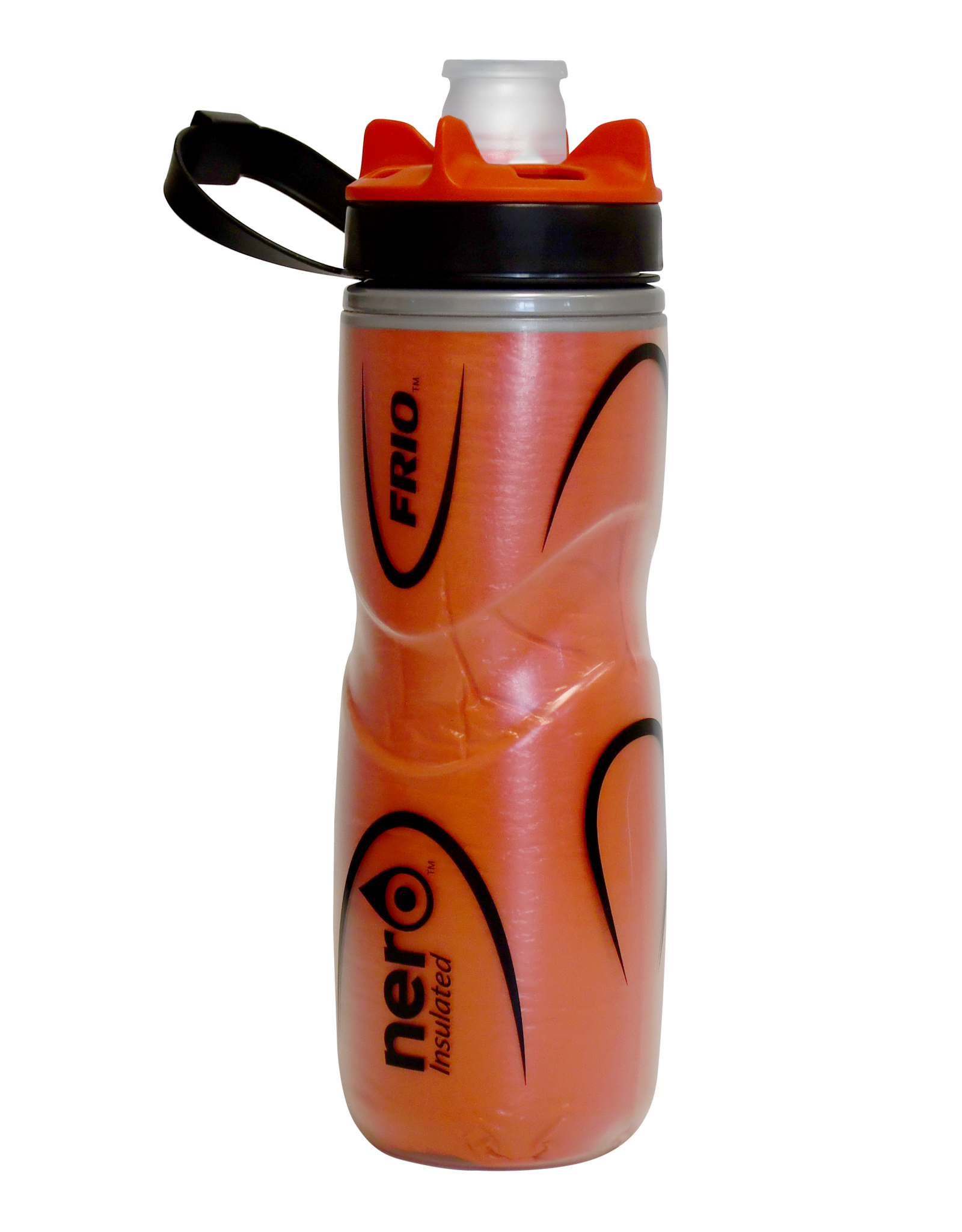 Nero Bottle isolated Nero Frio positive