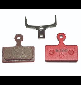 Kool-Stop Plaquettes frein Kool-Stop D635 org (Shim G03A) M988/M785/M675